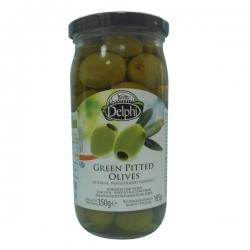 Оливки без косточек в рассоле, DELPHI, 340 гр