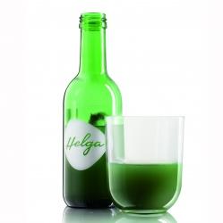 Напиток безалкогольный газированый на основе зеленой водоросли Chlorella Helga, 250 мл