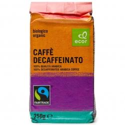 """Кофе Арабика 100% без кофеина """"Ecor"""", 250 г"""