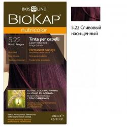* Краска для волос Сливовый насыщенный 5.22 BioKap, 140 мл