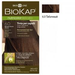 * Краска для волос Табачный 6.0 BioKap, 140 мл