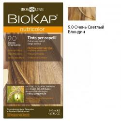 * Краска для волос Очень Светлый Блондин 9.0 BioKap, 140 мл