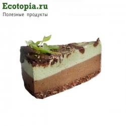"""Торт """"Мятный бриз"""", 125±5 гр (кусочек)"""