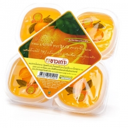 "Конжаковое желе ""Апельсин"", CHAOKOH, 115г х 4 шт"