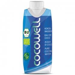 Кокосовая вода без сахара органическая Cocowell BIO, 330 мл