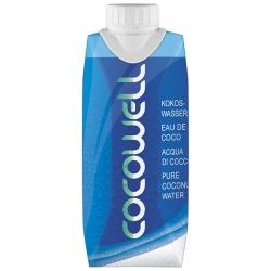 Кокосовая вода без сахара Cocowell Conventional, 330 мл