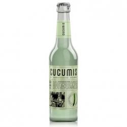 Напиток газированный с огуречным соком и базиликом Cucumis Cucumber, 330 мл