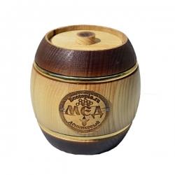 Мёд донниковый в бочонке, 450 гр