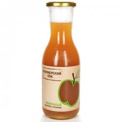 Фермерский сок яблочный прямого отжима, 1 л