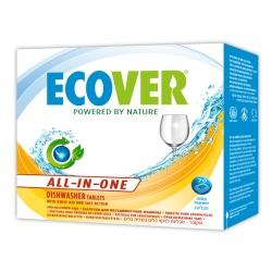 Таблетки для посудомоечной машины 3 в 1, Ecover, 500 г