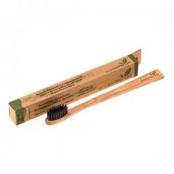 Зубная щетка из натурального бамбука с угольным напылением (детская)