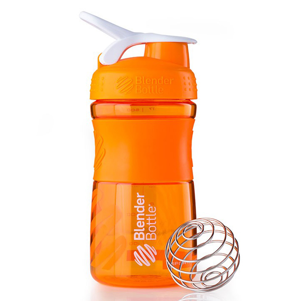 Шейкер BlenderBottle SportMixer Stainless 828ml Black-Red BB-SMST-BLRE