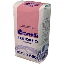 Толокно овсяное Гарнец, 500 гр