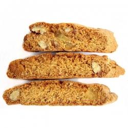 Пряник нарезной на гречишном меду с грецким орехом и грушей, 150 гр