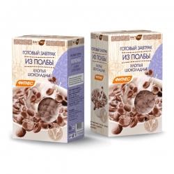 Готовый завтрак из полбы - шоколадные хлопья, 200 гр