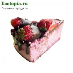 """Торт """"Клубничный зефир"""", 125±5 гр (кусочек)"""