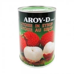 """Личи в сиропе """"AROY-D"""", 565 г"""