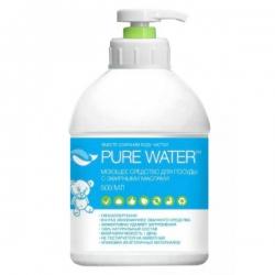 Средство для посуды с эфирным маслом эвкалипта Pure Water, 500 мл