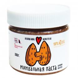 Ореховая паста из жареного миндаля Nutbutter, 300 гр