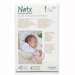 Подгузники Naty размер 1 (2-5 кг)