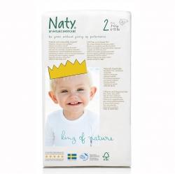 Подгузники Naty размер 2 (3-6 кг)