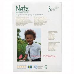 Подгузники Naty Размер 3 (4-9 кг) эконом упаковка