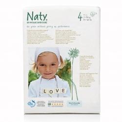 Подгузники Naty Размер 4 (7-18 кг) эконом упаковка