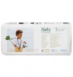 Подгузники Naty Размер 5 (11-25 кг) эконом упаковка