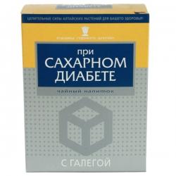 При сахарном диабете с галегой смесь трав, 40 гр