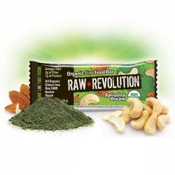 Батончик Raw Revolution Organic Spirulina Dream, 51 гр, купить