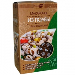 """Макароны из полбы цельнозерновые """"Рожки"""", 400 гр"""