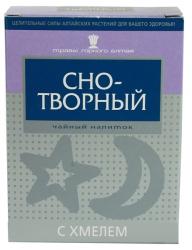 Снотворный с хмелем чайный напиток, 40 гр