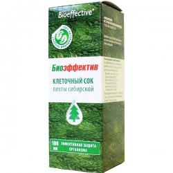 Пихта сибирская для внутреннего применения, Bioeffective, 30 мл