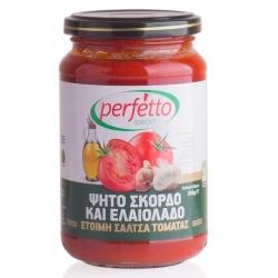 Соус томатный с чесноком и оливковым маслом, 350г