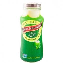 Натуральная Кокосовая вода с добавлением алоэ вера Taste Nirvana, 280 мл