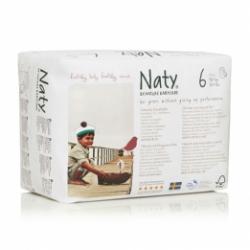 Подгузники-трусики размер 6 (16  кг), Naty