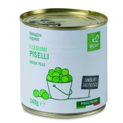 """Горошек зелёный """"Ecor"""", 340 г"""
