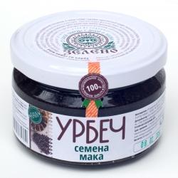 Урбеч из семян мака пищевого, 200 гр