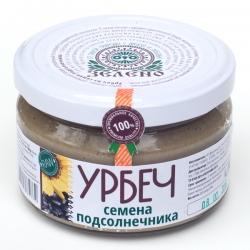 Урбеч из семян подсолнечника, 200 гр